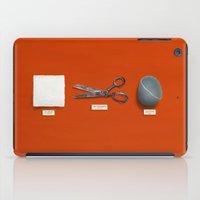 Paper, Scissors, Stone iPad Case