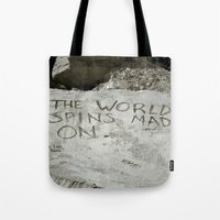 Spin Right Round Tote Bag