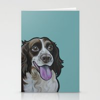 Bea the Springer Spaniel Stationery Cards