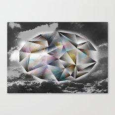 Polygon Heaven Canvas Print