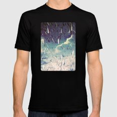 Swimming in your ocean SMALL Black Mens Fitted Tee