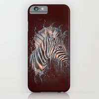 iPhone & iPod Case featuring DARK ZEBRA by Ptitecao
