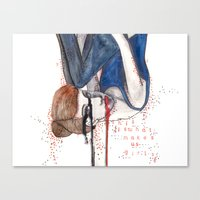This is what makes us girls Canvas Print
