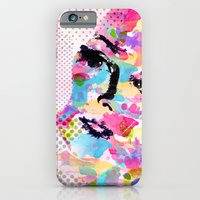 Abstract portrait iPhone 6 Slim Case