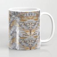 Wood Quilt 2 Mug