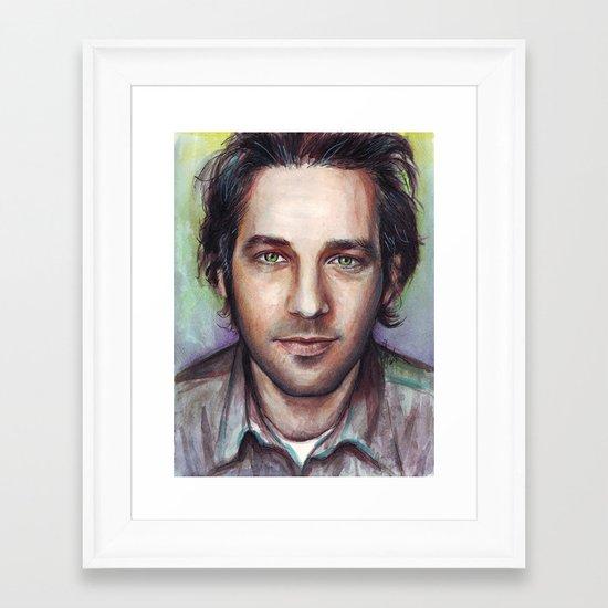 Paul Rudd Framed Art Print
