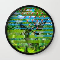 Landscape Of My Heart (s… Wall Clock