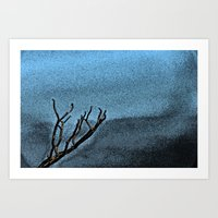 Hunted Branch Art Print