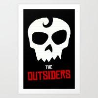 TheOutsiders Art Print