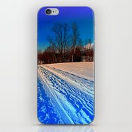 Traces On A Winter Hikin… iPhone & iPod Skin
