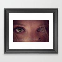 Eye Travel Framed Art Print