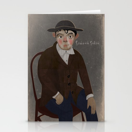 Portrait Stationery Card