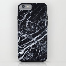 Real Marble Black iPhone 6s Tough Case