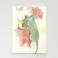 Good to see you Stationery Cards