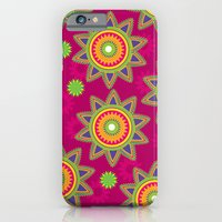 Moroccan Flower Wine iPhone 6 Slim Case