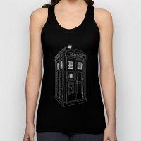 Doctor Who Tardis Unisex Tank Top