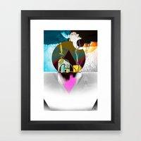 FeatherWeight  Framed Art Print