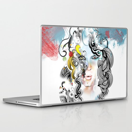 lined Laptop & iPad Skin