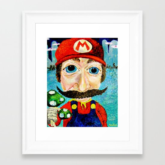 """1up"" Framed Art Print"