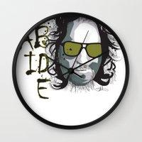 The Dude - Big Lebowski INK Wall Clock
