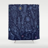 Magic Weapons Shower Curtain