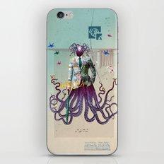 Mr Octapius iPhone & iPod Skin
