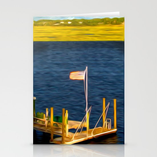 This American Sound Stationery Card