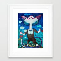 Puss without seven-league boots#2 Framed Art Print