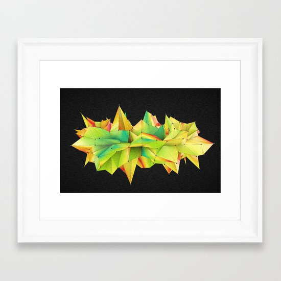 Mix Of Abstract Framed Art Print
