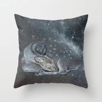 The Deer Spirit Throw Pillow