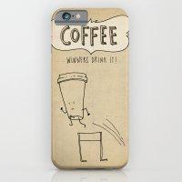 COFFEE  Winners Drink It! iPhone 6 Slim Case