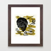 Planet Oblivion Framed Art Print