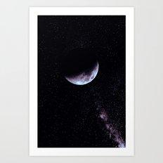 Night Moon Art Print