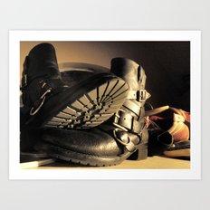 Boot Art Print