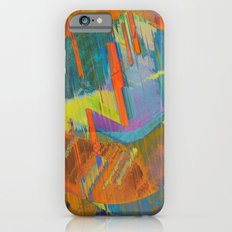 Pixels On The Beach - Mark Gould iPhone 6 Slim Case