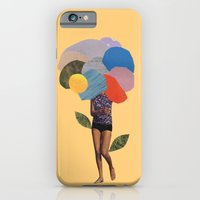 iPhone & iPod Case featuring i dream of you amid the flowers by cardboardcities