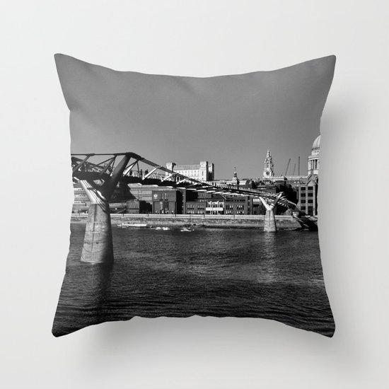 Views To St. Pauls Throw Pillow