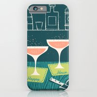 iPhone & iPod Case featuring Happy Hour by Jenny Tiffany