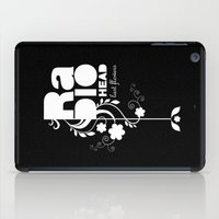 Radiohead song - Last flowers illustration white iPad Case