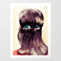 Do You Have Eyes? I Have… Art Print