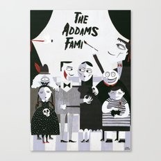 ADDAMS FAMILY Canvas Print