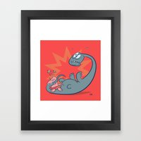 Ouch! Framed Art Print