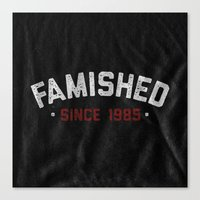 Famished Canvas Print