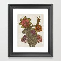 Dear Deer Framed Art Print