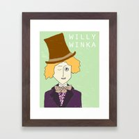 Willy Winka Framed Art Print