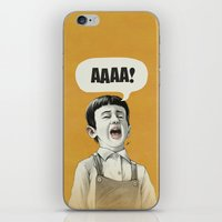 AAAA! (Golden) iPhone & iPod Skin