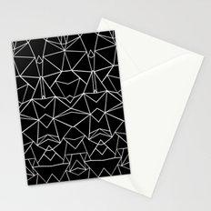Ab Mirror Black Stationery Cards
