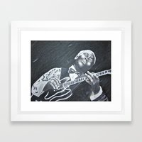 B.B. King Framed Art Print