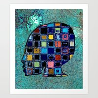 Living In A Box (global)… Art Print