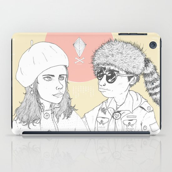 """I love you but you don't know what you're talking about"" iPad Case"